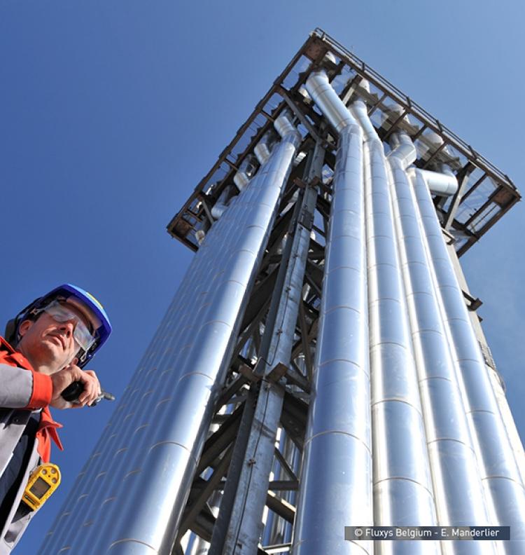 Réseau de transport de gaz naturel