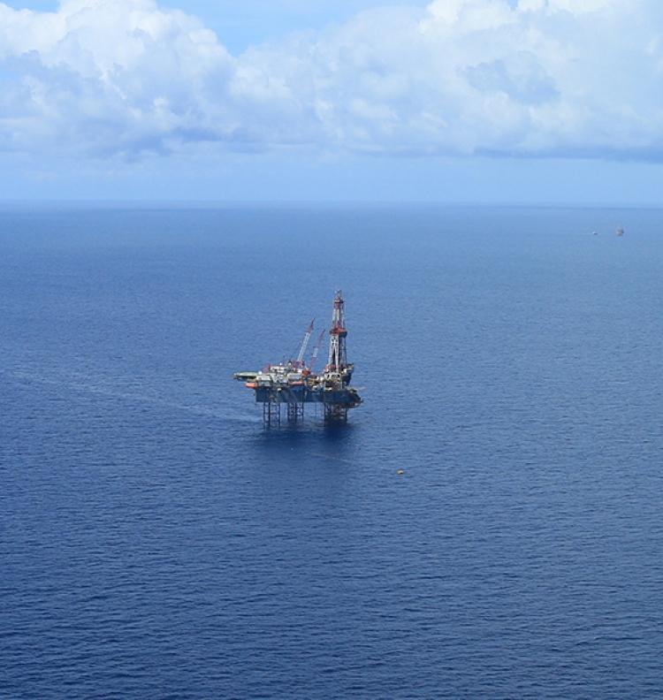 Gashoudende lagen onder zee