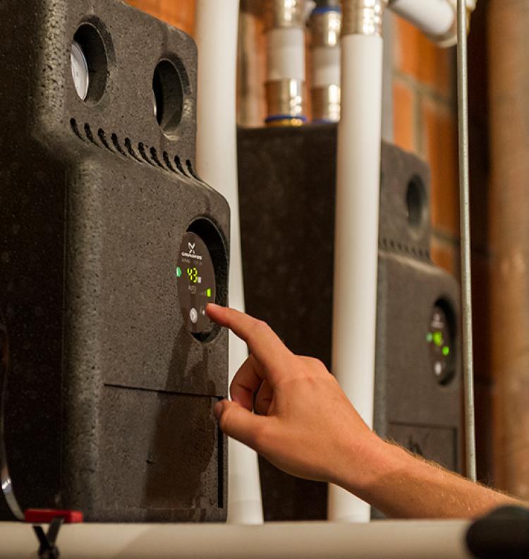 Chaudière à condensation et pile à combustible : le duo le plus efficace.