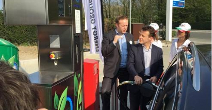 Een juridisch kader voor het uitrollen van CNG stations in Wallonië te ondersteunen