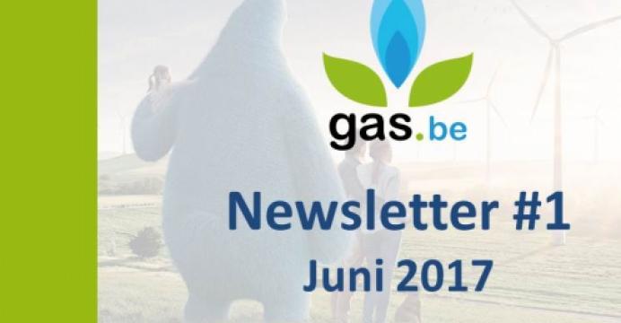 Gas.be Nieuwsbrief #1