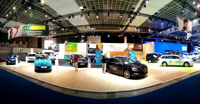 CNG wagens: Meer dan 600 premies toegekend ter gelegenheid van het Autosalon 2016.