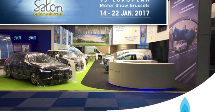 COMMUNIQUÉ DE PRESSE : Deux fois plus de véhicules au gaz naturel sur les routes belges