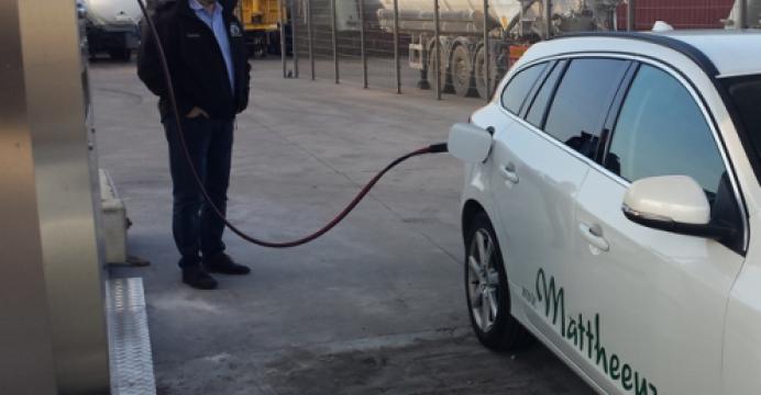 Il est désormais possible de s'approvisionner en CNG à Veurne