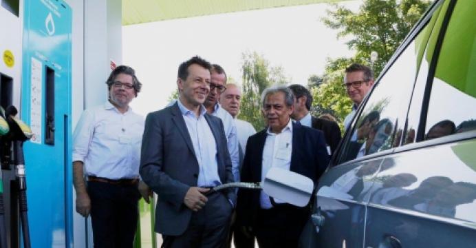 DATS24 ouvre sa 50e station CNG à Dour